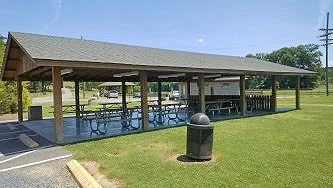 Main picnic shelter